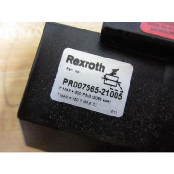 Rexroth Australia Italy PR007565-21005 PR00756521005 Regulator