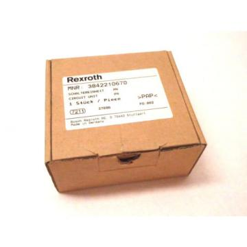 New Italy India Bosch Rexroth 0820 402-046 PNEUMATIC VALVE ASSEMBLY