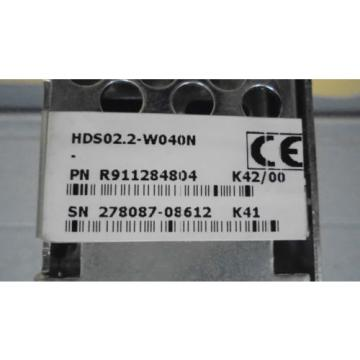 REXROTH China France INDRAMAT HDS02.2-W040N SERVO DRIVE *RECONDITIONED*
