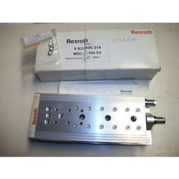 Rexroth Singapore France 0Mini Slide 0 821 406 319 MSC-1-100-SX