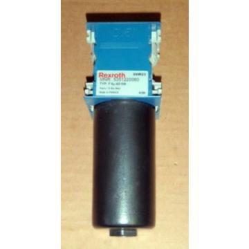 NIB Russia Italy Rexroth Filter 5351220060 _ 535122OO6O _ F 5u AD MB, 12 bar maxi