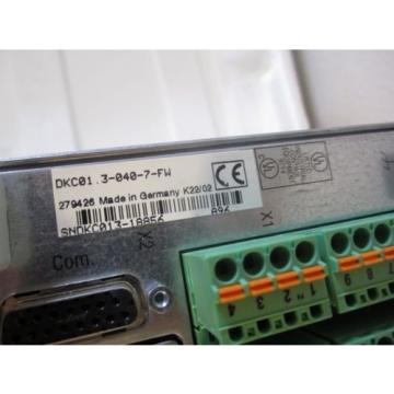 REXROTH France France INDRAMAT DKC01.3-040-7-FW