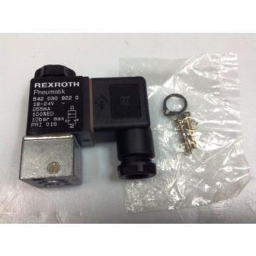 Rexroth Australia USA Mannesmann Pneumatik # 542 030 022 0, 3/2 24VDC