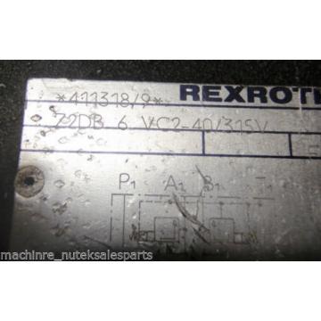 Rexroth Germany Canada Valve Z2DB6VC2-40/315V  Z2DB 6 VC2-40/315V 72DB