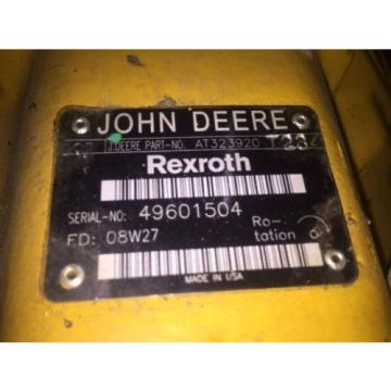 OEM, Korea Dutch Rexroth Pump R986110422, John Deere Pump AT323920, AT310979, AT227701
