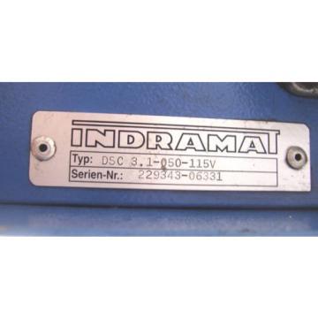 INDRAMAT Singapore France REXROTH SERVO AMPLIFIER DSC3.1-050-115V  DSC31050115V  60 Day Warranty!