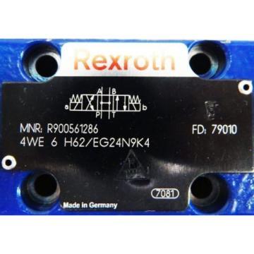 Rexroth Korea Singapore 4WE 6 H62/EG24N9K4 R900561286 Wegeventil -used-