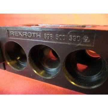 Rexroth Dutch Egypt 898 500 3902, R432013811, P67701 Manifold Inlet Segment, Bosch 7877-08-W