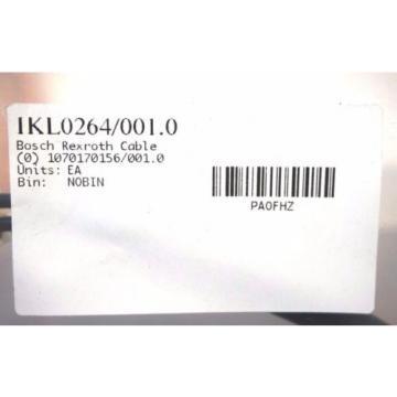 NEW Egypt India BOSCH REXROTH IKL0264 / 001.0 CABLE IKL02640010