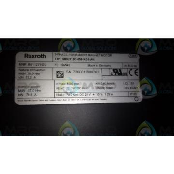 REXROTH Russia Germany MKD112C-058-KG3-AN *NEW IN BOX*