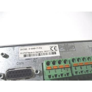 NEW India Italy REXROTH INDRAMAT DKC02.3-040-7-FW ECODRIVE SERVO AXIS DRIVE DKC02.30407FW