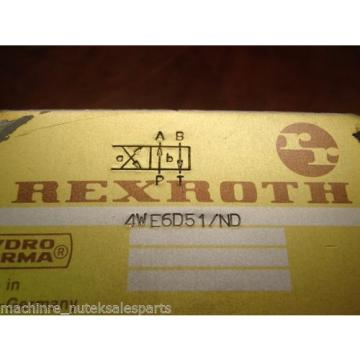 Rexroth France Canada Valve 4WE6D51/ND _ 4WE6D51ND