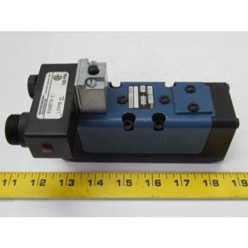 Rexroth India India Ceram GS-020061-00540 110VAC Pneumatic Solenoid Valve