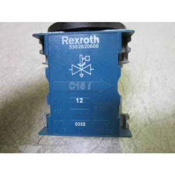 REXROTH Greece Korea 5352620600 ISOLATING VALVE  *USED*