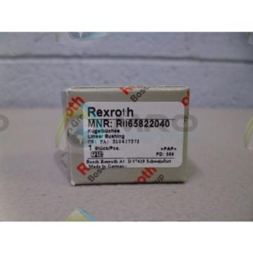 REXROTH Egypt Canada R065822040 LINEAR BUSHING *NEW IN BOX*
