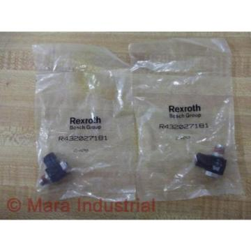 Rexroth Greece china Bosch Group R432027181 Flow Control (Pack of 6)