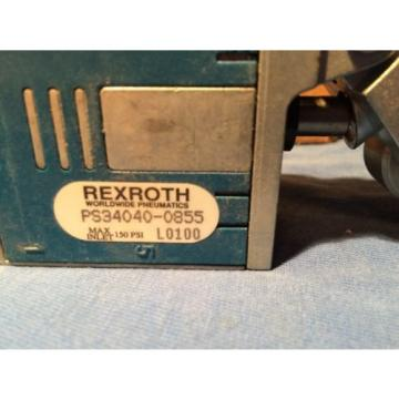 "Bosch Dutch Dutch REXROTH CD-7 VALVE PS-034040-00855 4 Way / 2 Position   1/4"" NPT roller"