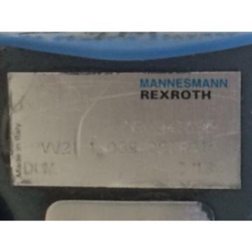 REFURBBED China Canada REXROTH HYDRAULIC VANE PUMP NR0941696 PVV21-1-X068-027RA15