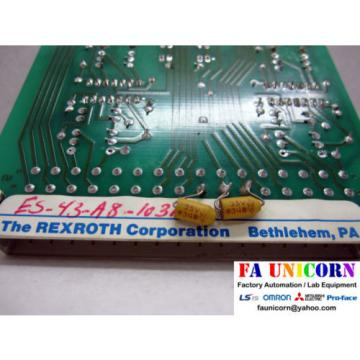 [Rexroth] Italy Mexico QLC-1 Amplifier Used Fast Shipping 3~5 days