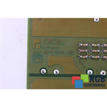 MOTHERBOARD India Egypt EBC01 109-1040-3A01-09 FOR DKCXX.3-100-7 REXROTH ID28751