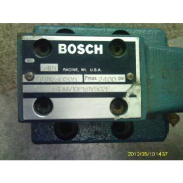 BOSCH Dutch Dutch 9811230205  # 081DMV10P131V502E 2400 PRESSURE REDUCING  VALVE