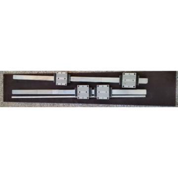 Bosch Canada Egypt Rexroth 2x Linearführung 1520mm 4x Wagen R185143210 Linearführungen 45