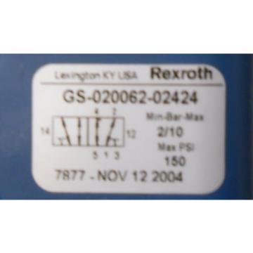 REXROTH, Russia Japan CERAM VALVE, GS-020062-02424