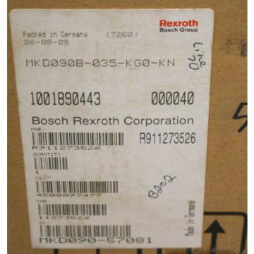 NEW Japan Korea REXROTH MKD090B-035-KG0-KN 3-PHASE PERMANENT MAGNET MOTOR MKD090B035KG0KN
