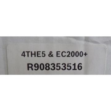 NEW France Russia BOSCH REXROTH 4THE5 EC2000+ R908353516 NIB