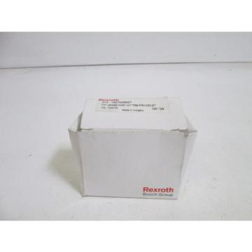 REXROTH Canada Canada SPARE KIT 1827009557 *NEW IN BOX*