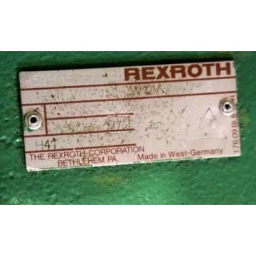NEW Dutch USA REXROTH 1 PV2V422/50 HYDRAULIC PUMP RW12MCL-16A 1/5