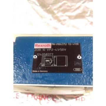 REXROTH Canada Russia HYDRAULIC VALVE ZDB10VP2-41/50V R900422752