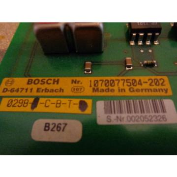 Bosch Germany Germany Rexroth 1070077504-202 Profibus Module DP-EA4 CL400