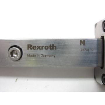BOSCH Korea Korea REXROTH LINEAR RUNNER BLOCK R162289420 w/ REXROTH GUIDE RAIL, LENGTH 654mm