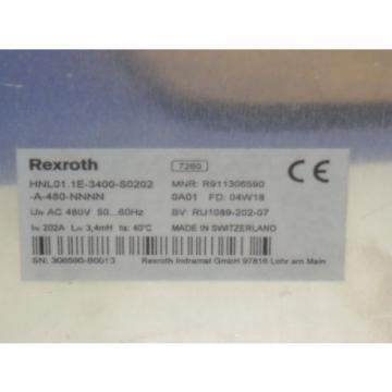 REXROTH Canada Germany HNL01.1E-3400-S0202-A-480-NNNN *NEW NO BOX*