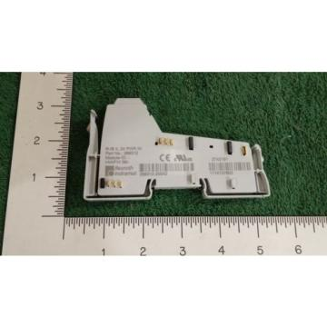 REXROTH Korea china (NIB) R-BI-IL-24-PWR-IN INLINE POWER TERMINAL BLK 24V DC 6 AMP (OFFICE)