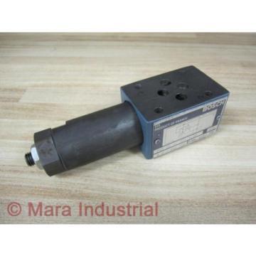 Rexroth Italy china Bosch FE3 SB PC M01 S 50 Valve W/O End Plug - New No Box