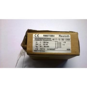 Bosch Canada Greece REXROTH Druckumformer HM 17-10/250-C/V0/0