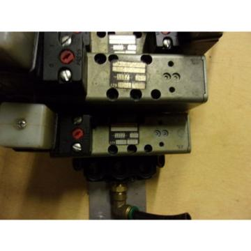 Rexroth Germany Italy Ceramic Lot of 5 Pneumatic Valves w/ Gauges GT-10061-2440 *FREE SHIPPING