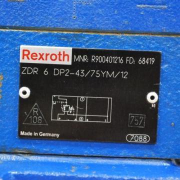 Rexroth Singapore Greece 4WEH22E76/6EG24N9EK4, #ZDR6DP2-43/75YM/12, #4WE6J60/EG24N9K4 Assembly.