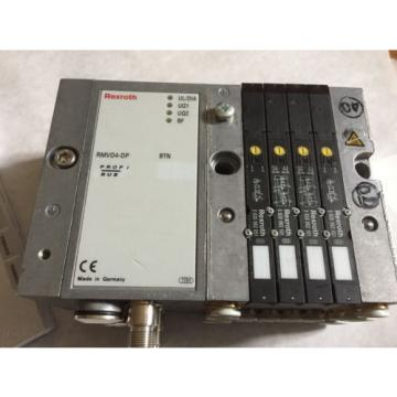 NEW Korea Dutch REXROTH RMV04-DP,REXROTH 0820062051,0820062101 VALVE SYSTEM & MANUAL ,BOXYS
