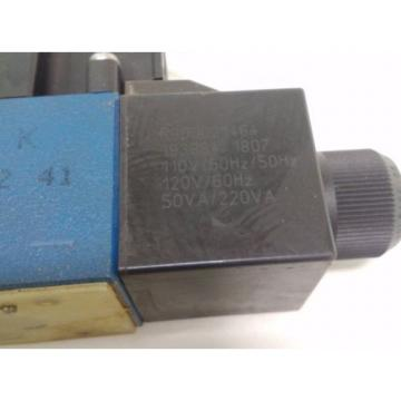 REXROTH Canada Dutch PILOT VALVE 4WE6D62/OFEW110N9DAL/B12/62