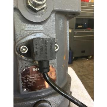 Bosch India Italy Rexroth Variable Displacement Bent Axis Hydraulic Motor R902092348