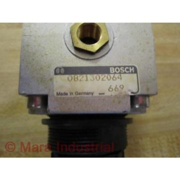 Rexroth Egypt Singapore Bosch Group 0821302064 Pressure Regulator - Used