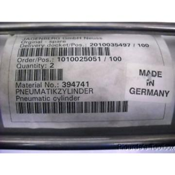 New Singapore Canada Rexroth Pneumatik Mecman Cylinder, 160 Stroke, 10 Bar, 523 403 032 0