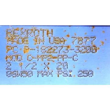 "REXROTH Australia France BOSCH CYLINDER, PC P-182273-3200, 2-1/2 X 20"", 250 PSI"