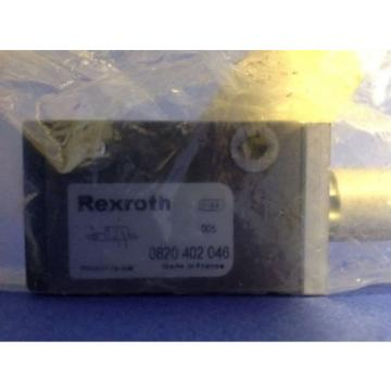 REXROTH Dutch Egypt PNEUMATIC VALVE NIB 0820 402 046