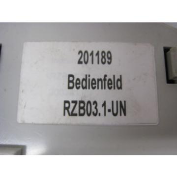 Rexroth China Canada Indramat RD REFU RZB03.1-UN 201189 Servo Drive Control Operator Panel