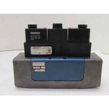 Rexroth USA Canada Ceram GS30012-0707 GS-030012-00707 110VAC Pneumatic Solenoid Valve