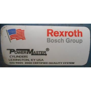 REXROTH, Singapore India BOSCH, HYDRAULIC CYLINDER, WL-151659, MOD MDS4-PP, 2-1/2 X 3""